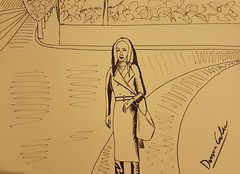 Stefania Visconti pencil portrait (Stefania Visconti) Tags: stefania visconti attrice modella actress model arte artista artist performer transgender travesti tgirl ladyboy shemale crossdresser italian pencilportrait
