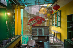 (kuuan) Tags: voigtländerheliarf4515mm manualfocus mf voigtländer15mm aspherical f4515mm superwideheliar apsc sonynex5n vietnam saigon càphêhoagiấy càphê hoagiấy coffeeshop cafe retro style vintage