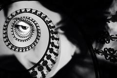 Vértigo (una cierta mirada) Tags: portrait steps eye gaze portraiture woman