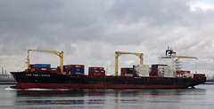 CMA CGM L'ETOILE (kees torn) Tags: hoekvanholland nieuwewaterweg containerschepen cmacgmletoile