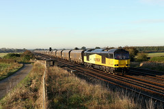 Better late than never ! (Dan-Piercy) Tags: gbrf excolas tug class60 60002 brumberhill colton southjn 6n45 drax tynedock biomass empties