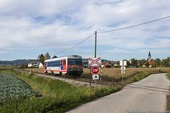 Verso Aschach (Antonio Martinetti) Tags: railways railcar railway rail railcars dmu ferrovie ferrocarriles ferrovia vasut vlak vonat wels aschach aschacher branch bahn automotrice automotrici austria
