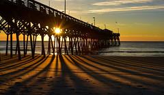Sunrise (jimpillion) Tags: sunrise gardencitybeach pier gardencity southcarolina beach ocean seaside sunset