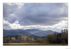 Autumn Spotlight (John Cothron) Tags: americansouth blountcounty cadescove canonef70200f4l canoneos5dmkiv cothronphotography dixie eastsouthcentralstates georgiaphotographer greatsmokymountainnationalpark johncothron southernregion tennessee thesouth townsend us usa usaphotography unitedstatesofamerica volunteerstate autumn cloud clouds cloudyweather fall fallcolor handheld landscape lateafternoon outdoor outside roadside scenic sky img21393171024coweb10232019 ©johncothron2017 autumnspotlight