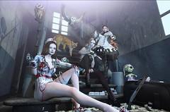 We are BFFs!:) (Good times of Umi :))))))) Tags: secondlife meshhead maitreya catwa genus legacy nurse gothic lolita ghost セカンドライフ 日本 japanese bff