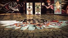 boardwalk art (Asbury Park NJ) (Steve Stanger) Tags: olympus olympusomdem10markii microfourthirds m43 micro43 getolympus olympuscamera art woodenwallsproject boardwalk asburypark asburyparknj asburyparkboardwalk nj fall urban carousel seehearnow jersey shore