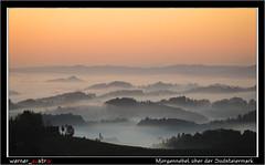10-19 6754A_Südsteiermark (werner_austria) Tags: steirischeweinstrase südsteiermark wein landschaft schönheit weintrauben weinberge genus nebel morgennebel sonne