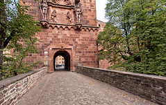 Heidelberg Castle Entry _8512 (hkoons) Tags: heidelbergcastle middlerhine rhineriver rivercruise vikingrivercruise westerneurope worldheritagesite citywall castle europe germany heidelberg protection rhine rhineland rhinelandpalatinate unesco viking ancient architecture building citadel cruise decorated defense door enclosure fort fortress gate gateway hill home keep knights landowners landscape lord mote old outdoors outside palace parapet portal residence river ship structure sun sunshine tolls tour tourism tourist tower travel village villagers wall walled walls water
