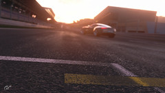 PMC Week 44 Entry - (Re)focused (at1503) Tags: car road track circuit redbullring sky sunrise sun glow supercar astonmartin one77 astonmartinone77 britishcar gtsport granturismo granturismosport motorsport racing game gaming ps4
