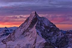 Dawn at Matterhorn - 2019 version (Bernhard_Thum) Tags: nature carlzeiss zm thum leicam9 sonnar852zm bernhardthum leica alps dawn earlymorning matterhorn wallis sonnart285