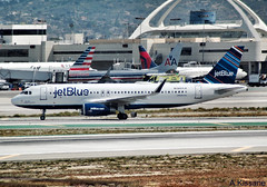 JET BLUE A320 N809JB (Adrian.Kissane) Tags: 5349 n809jb 2142016 a320 lax jetblue