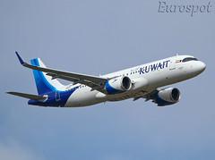 F-WWDR Airbus A320 Neo Kuwait Airways (@Eurospot) Tags: fwwdr 9kakn airbus a320 neo a320251n 9303 toulouse blagnac kuwaitairways