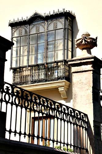 Balcony in the sun