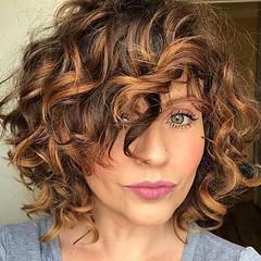 15 Meilleur Court Wavy Bob Coupes De Cheveux (votrecoiffure) Tags: 2019 cheveux coiffure votrecoiffure