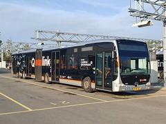 NLD Qbuzz 3407 ● Groningen Peizerweg (Roderik-D) Tags: qbuzz34003408 3407 mercedesbenz o530gxl capacity1 2013 zz9476 qlinkoranje qlinkorange articulatedbus zernikeliner dieselbus savas bege geledebus gelenkbus qlink