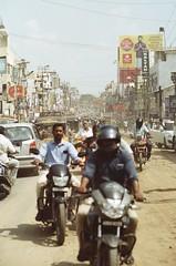 (Jerry501) Tags: india street 85mm nikonf4 kodakfarbwelt100 expired analog film