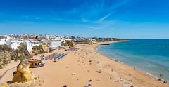 Praia do Túnel - Peneco beach (-ebphoto-) Tags: nikon d500 sigma 1770 mm beach sun summer portugal algarve sea water sand wide angle