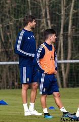 Diferencia de altura (Dawlad Ast) Tags: real oviedo club de futbol entrenamiento trainning requexon octubre 2019 asturias españa soccer deporte sport javier fernandez jimmy suarez