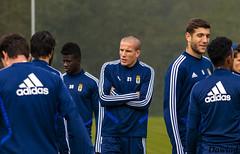 Lolo pasando frio (Dawlad Ast) Tags: real oviedo club de futbol entrenamiento trainning requexon octubre 2019 asturias españa soccer deporte sport lolo gonzalez