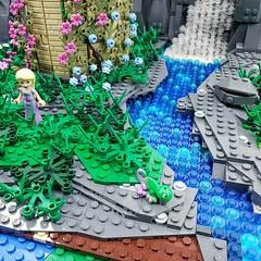 Rapunzel's Tower   Built for my soon to be 8 year old daughters birthday party..Happy Birthday Amelia!  Follow me on Instagram here: https://www.instagram.com/lego.scape.sculpture/ (ben_pitchford) Tags: legodisneymoviesrapunzelstowerdisneytangleddisneyfanafollegocustomlegolifelegophotographybricknetwork