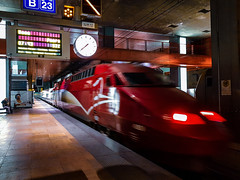 Thalys @ Antwerpen Centraal (Avinash Chotkan) Tags: