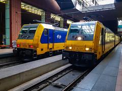NSR 186 006 & 186 009 @ Antwerpen Centraal (Avinash Chotkan) Tags: br186 traxx bombardier ns antwerp