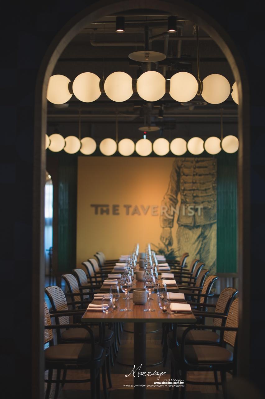 《婚攝》chieh&yo-The Tavernist金普頓大安酒店