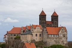 Schlossberg Quedlinburg (mkirstefoto) Tags: altstadt deutschland europa fachwerkhaus quedlinburg sachsenanhalt schlossberg stiftskirchestservatius