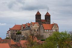 Stiftskirche St. Servatius (mkirstefoto) Tags: altstadt deutschland europa fachwerkhaus quedlinburg sachsenanhalt schlossberg stiftskirchestservatius
