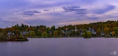 Meredit (JoseQ.) Tags: meredith newhampshire usa norteamerica ciudad pueblo otoño lago agua cielo panoramica colores arboles vegetacion winnipesaukee