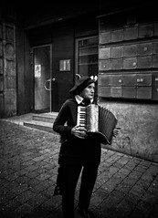 The street musician There are silences that speak volumes as there are words that mean nothing. - Edith Piaf (Fan.D & Dav.C Photgraphy) Tags: accordion one person people playing full length day outdoors music musical instrument arts culture entertainment front view holding happiness black and white women street city streetphotography streeturbainphotography blackandwhitestreetphotography