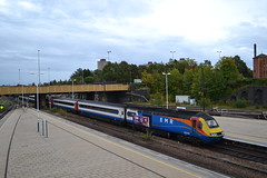 East Midlands Railway HST 43050 (Will Swain) Tags: leicester station 22nd september 2019 train trains rail railway railways transport travel uk britain vehicle vehicles england english europe transportation class emt east midlands hst 43050 50