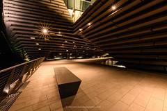 V&A Museum, Dundee (www.stevenrobinsonpictures.com) Tags: vadundee scotland dundeediscovery scottish architecture night landscape nightscape sunstars sigma14mm18art nikond850 lines longexposure beautiful glow shape geometric scottishdesign uwa ultrawide