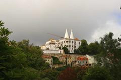 Sintra (terziluciano) Tags: sintra montesantos palaciodapena portogallo edificio palazzo lisbona panorama coth coth5