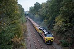 70810, Sutton Park  (2) (JH Stokes) Tags: suttoncoldfield suttonpark 70810 class70 colasrailfreight trains trainspotting tracks transport railways photography