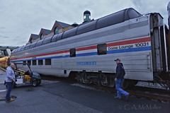 Last Run, Amtrak Great Dome (RTsan) Tags: camcmullenphotography amtrak domecar train oceanview streamliner greatdome station dome domelounge newyork rensselaer albanyrensselaerstation eos5dmarkii canon ef1635mmf28liiusm