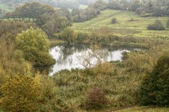AbbeyLand (Tony Tooth) Tags: nikon d7100 nikkor 50mm f18g lake pond countryside landscape hdr overcast leek staffs staffordshire october england