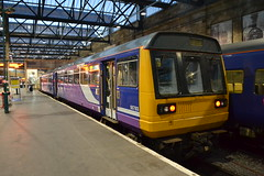 Northern Pacer 142087 (Will Swain) Tags: carlisle station 21st september 2019 cumbria north west district county train trains rail railway railways transport travel uk britain vehicle vehicles england english europe transportation class northern pacer 142087 142 087 87