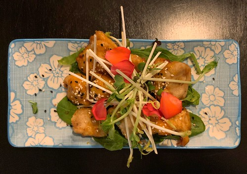 Korean fried 'chicken' @ Plantastic Street Food