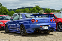Nissan Skyline GTR R34 V-Spec II (aguswiss1) Tags: nissan r34 vspec nürburgring pfingsten car flickr gtr flickrcar racetrack skyline auto