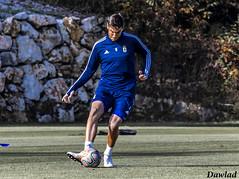 Golpeo de Javi (Dawlad Ast) Tags: real oviedo club de futbol asturias entrenamiento trainning requexon octubre 2019 soccer españa spain deporte sport javi fernandez