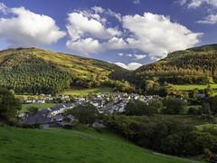 AberG (Howie Mudge LRPS BPE1*) Tags: abergynolwyn village gwynedd wales cymru travel landscape nature houses hills olympus em10 mk iimicro four thirdsmftm43blue sky uk olympusem10markii olympusm14150mmf4056ii