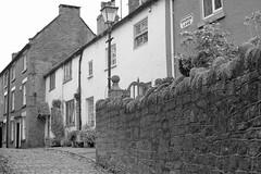 ChurchLane (Tony Tooth) Tags: nikon d7100 nikkor 35mm f18g street cobbles cobbledstreet lane churchlane leek staffs staffordshire england bw blackandwhite monochrome