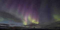 The Colors of Aurora (Friðþjófur M.) Tags: iceland ísland northernlights nordlicht norðurljós canon5dmkii norðvesturland northwesternregion samyang14mm friðþjófurm iso1600f28 man colors clouds stars landscape skagafjörður skagafjordur