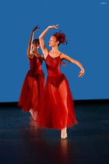 deep red (dim.pagiantzas | photography) Tags: people women female portrait beauty dance dancers dancing art artists stage theater motion ballet event faces