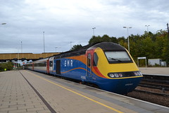 East Midlands Railway HST 43060 (Will Swain) Tags: leicester station 22nd september 2019 train trains rail railway railways transport travel uk britain vehicle vehicles england english europe transportation class emt east midlands hst 43060 60