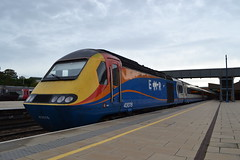 East Midlands Railway HST 43076 (Will Swain) Tags: leicester station 22nd september 2019 train trains rail railway railways transport travel uk britain vehicle vehicles england english europe transportation class emt east midlands hst 43076 076