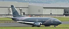 LY-FLT Belfast City Airport (Albert Bridge) Tags: belfastcityairport aircraft boeing737