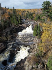 Beaver River (J.D. Misselt) Tags: waterfall fallcolors beaverriver minnesota northshore autumn