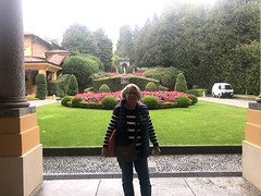 Ritsa at the Exit (RobW_) Tags: ritsa begonias villadeste cernobbio lake como lombardy italy tuesday 15oct2019 october 2019 diaryphoto mdpd2019 mdpd201910